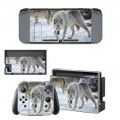 Wolves decal skin sticker for Nintendo Switch console and controllers