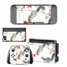 Chinese Culture Animals decal skin sticker for Nintendo Switch console and controllers