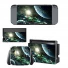 Outer space decal skin sticker for Nintendo Switch console and controllers