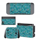 Clipart decal skin sticker for Nintendo Switch console and controllers
