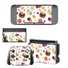 Fast food decal skin sticker for Nintendo Switch console and controllers