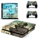 Metal Gear Survive decal skin sticker for PS4 console and controllers