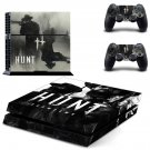 Hunt Showdown decal skin sticker for PS4 console and controllers