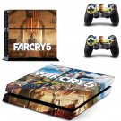Far Cry 5 decal skin sticker for PS4 console and controllers