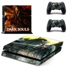 Dark Souls decal skin sticker for PS4 console and controllers