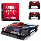 Spider Man decal skin sticker for PS4 console and controllers