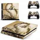 Quetzalcoatl Digital Art decal skin sticker for PS4 console and controllers