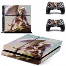 Winged Lion decal skin sticker for PS4 console and controllers
