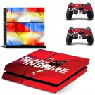 2018 FIFA World Cup decal skin sticker for PS4 console and controllers