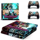 Bloodstained Ritual of the Night decal skin sticker for PS4 console and controllers