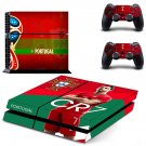 2018 FIFA World Cup Portugal decal skin sticker for PS4 console and controllers