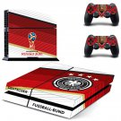 2018 FIFA World Cup Deutscher decal skin sticker for PS4 console and controllers