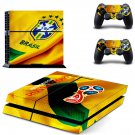 2018 FIFA World Cup CBF decal skin sticker for PS4 console and controllers