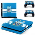 Argentine Football Association decal skin sticker for PS4 console and controllers