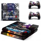 God Eater 3 decal skin sticker for PS4 console and controllers