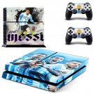 2018 FIFA World Cup Messi decal skin sticker for PS4 console and controllers