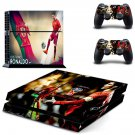 2018 FIFA World Cup Ronaldo decal skin sticker for PS4 console and controllers