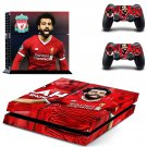 Mohamed Salah decal skin sticker for PS4 console and controllers