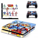 Mega Man 2 decal skin sticker for PS4 console and controllers