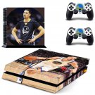 Klay Thompson decal skin sticker for PS4 console and controllers