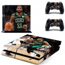 Kyrie Irving decal skin sticker for PS4 console and controllers