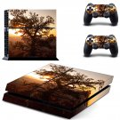 Tree Wallpaper decal skin sticker for PS4 console and controllers