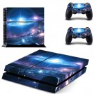 Galaxy Wallpaper decal skin sticker for PS4 console and controllers