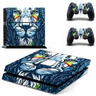 Lion Wallpaper decal skin sticker for PS4 console and controllers