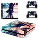 Sexy Wallpaper decal skin sticker for PS4 console and controllers