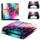 Abstract Wallpaper decal skin sticker for PS4 console and controllers