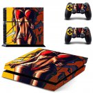 Sexy Lady decal skin sticker for PS4 console and controllers