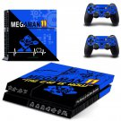 Mega Man 11 decal skin sticker for PS4 console and controllers