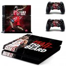 James Harden decal skin sticker for PS4 console and controllers