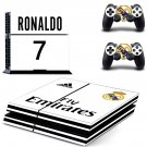 Real Madrid decal skin sticker for PS4 console and controllers