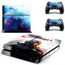 Battlefield 5 decal skin sticker for PS4 console and controllers