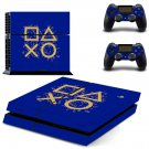 Classic design decal skin sticker for PS4 console and controllers
