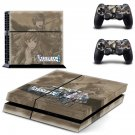 Valkyria Chronicles 4 decal skin sticker for PS4 console and controllers