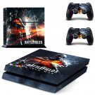 Battlefield 5 world war decal skin sticker for PS4 console and controllers