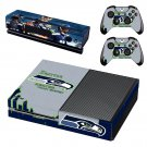 Seatle rather than eleven decal skin sticker for Xbox One console and controllers