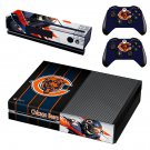 Chicago Bears decal skin sticker for Xbox One console and controllers