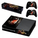 Warcraft decal skin sticker for Xbox One console and controllers