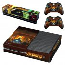 Avengers infinity war decal skin sticker for Xbox One console and controllers