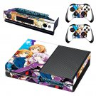 Sword Art Online Hollow Fragment decal skin sticker for Xbox One console and controllers