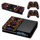 Black Panther decal skin sticker for Xbox One console and controllers