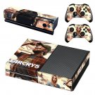 Far Cry 5 decal skin sticker for Xbox One console and controllers