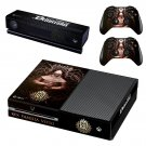 Kingdom Come Deliverance decal skin sticker for Xbox One console and controllers