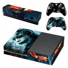 Batman vs Joker decal skin sticker for Xbox One console and controllers