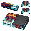 FC Barcelona Messi decal skin sticker for Xbox One console and controllers