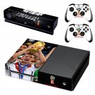 2018 FIFA World Cup decal skin sticker for Xbox One console and controllers