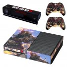 God Eater 3 decal skin sticker for Xbox One console and controllers
